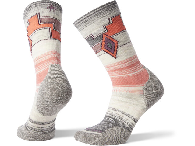 Smartwool PhD Outdoor Light Pattern Crew Socks Women medium gray